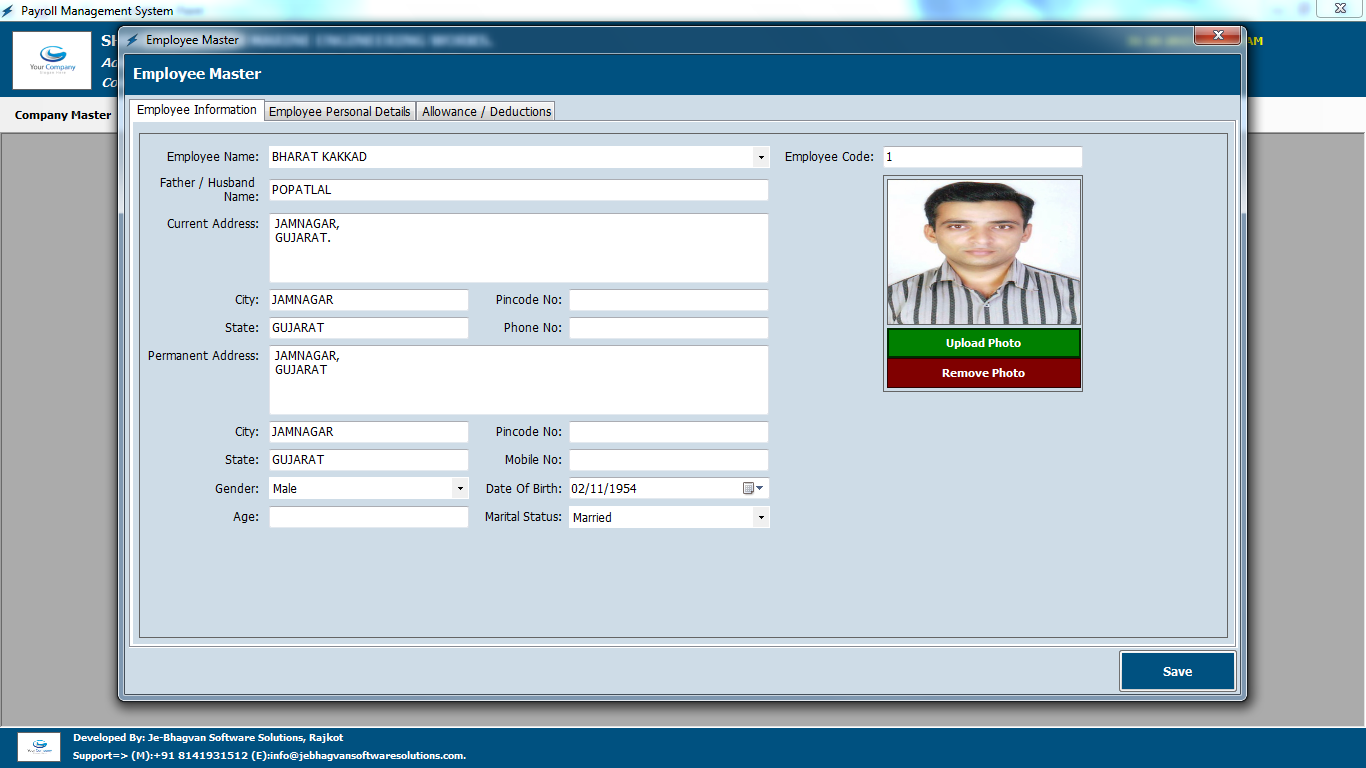 Payroll Management: Free Payroll Management Software India