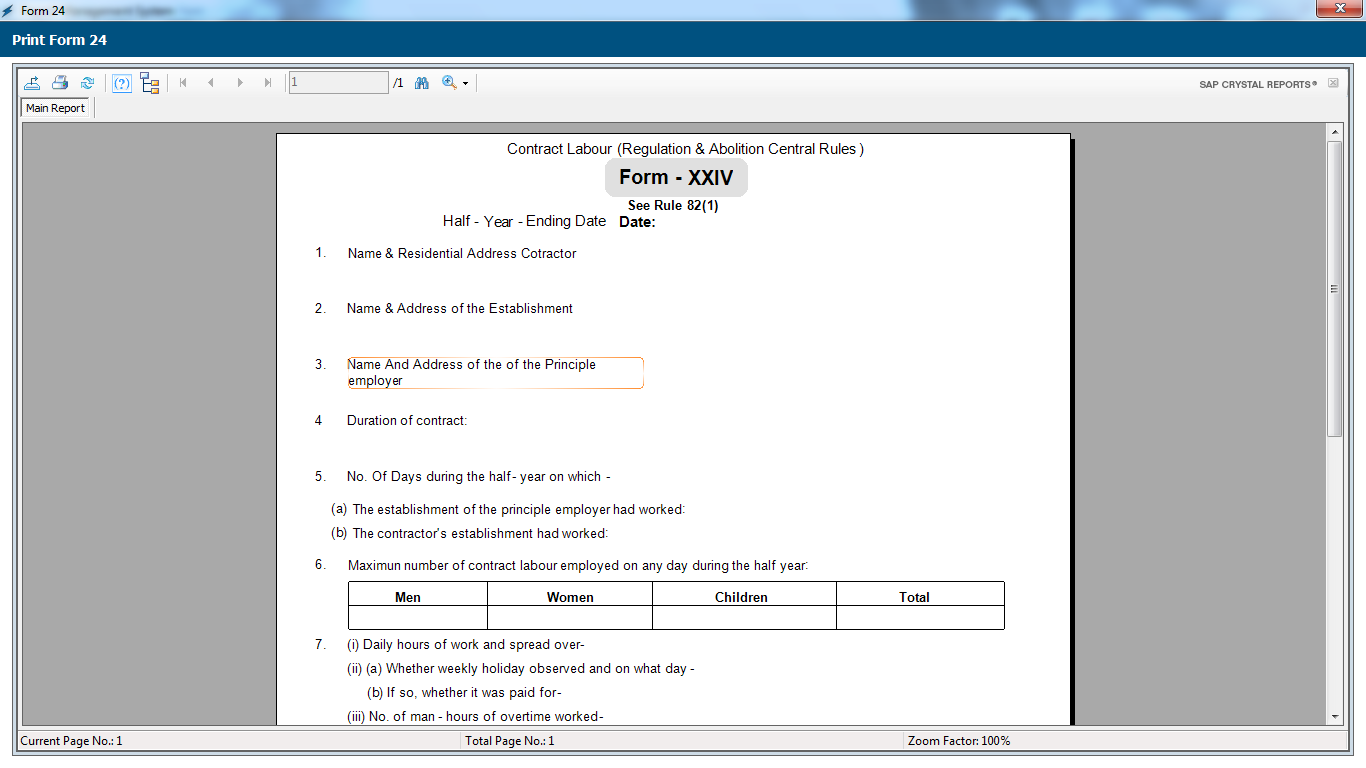 Payroll Management System Software Form No 24