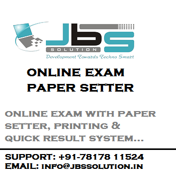 online exam and paper setter software